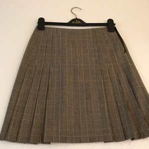 Brooks Brothers Women's Pleated Skirt